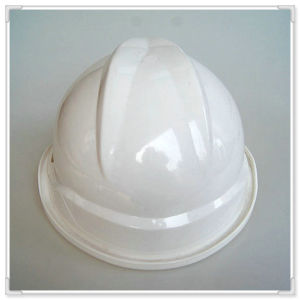Industrial Safety Hard Hat V Tpye with ANSI/Ce/En Standard Safety Helmet with Pin Lock Adjuster pictures & photos