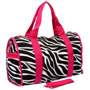 Wholesale Trend Fashion Pink Lady Weekender Bag for Teen pictures & photos