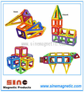 Magnetic Construction Block Sheets Magnetic Building Blocks Toys pictures & photos