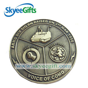 High Quality Antique Imitation Custom Metal Commemorative Badge for Gifts pictures & photos