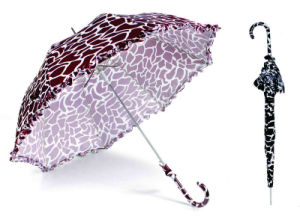 Water Ripple Print 16 Ribs Automatic Satin Umbrella (YS-SM23163901R) pictures & photos