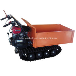2015 Wholesale 6.5HP 500kgs Manual Tipping Mini Truck Dumper, Mini Track Dumper, Hydraulic Mini Dumper (500A) pictures & photos