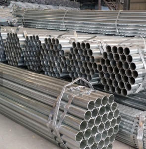Q235 Pre-Galvanized Round Steel Tube/48.3mm Dia Steel Pipe for Building pictures & photos