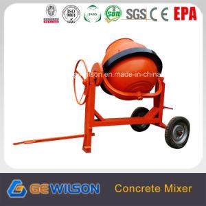 Portable Diesel Concrete Mixer with 350L Drum pictures & photos