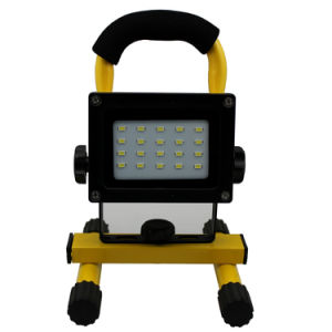 2016 New Product 10W 20W 30W 50W Rechargeable LED Floodlight pictures & photos
