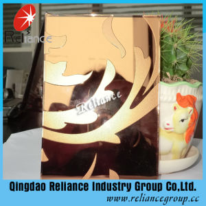 Golden Ice Decorative Glass pictures & photos
