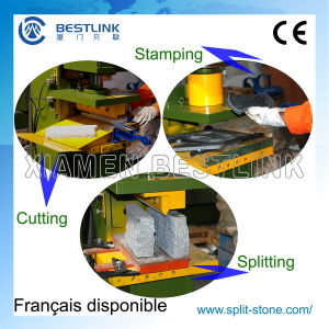 Hydraulic Stone Stamping Machine for Paving Stone Waste pictures & photos