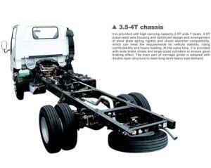 Isuzu 600p Single/Double Row Light Van Truck pictures & photos