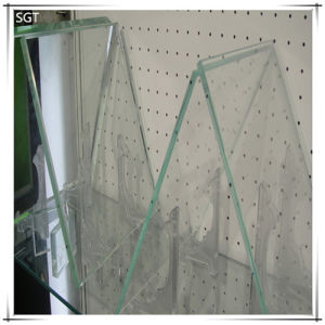 Clear Float Tempered Glass for Desk Surface pictures & photos