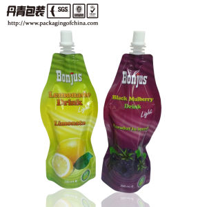 Bottle Shaped Beverage Packaging with Spout (DQ1208) pictures & photos