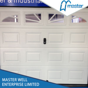 Cheap Automatic Aluminum Insulated Used Garage Door Panels Sale/Prices with Small Door/Opener, Garage Door Windows Inserts, Cheap/Finger Protection Garage Door pictures & photos