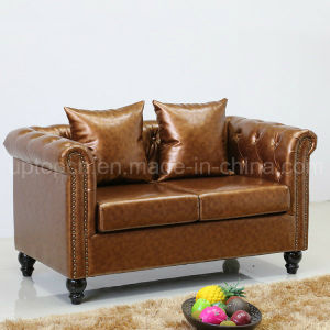 New Design Grace Home Sofa Seating Leather Sofa (SP-KS316) pictures & photos