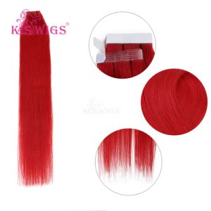 K. S Wigs Virgin Remy European Human Tape Hair Extension pictures & photos