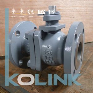 Steel Floating Type Ball Valve Flange End pictures & photos