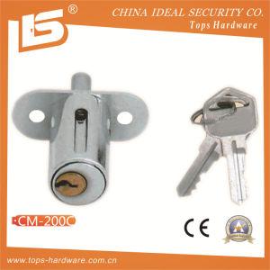 Zinc Furniture & Desk & Cabinet Drawer Lock (CM-200C) pictures & photos