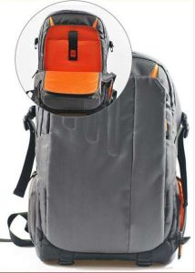 SLR Digital Canvas Neoprene Photo Backpack Sh-16051235 pictures & photos