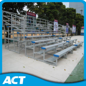 Metal Bleacher Plastic Chair Aluminum/Steel Seats Assemble Bleachers for Sale Indoor Gym Bleacher Audience Seats pictures & photos