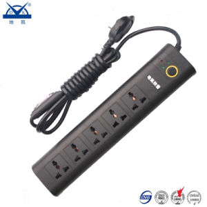 Multifunctional Black Universal 10A Power Strip Extension Socket Surge Protector pictures & photos