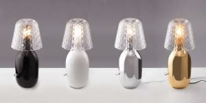 Modern Metal Glass Hotel Decoration Table Lamp (KAMT10340-1-320) pictures & photos