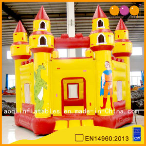 Giant Cheap Inflatable Jumping Castle for Kids (AQ512) pictures & photos