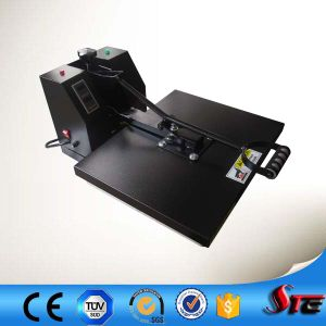 SGS CE Manual Clam Flat Fabric Heat Press Machine pictures & photos
