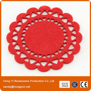 100% Polyester Nonwoven Fabric Coasters pictures & photos