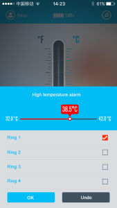 Intelligent Thermometer for Android Phone pictures & photos