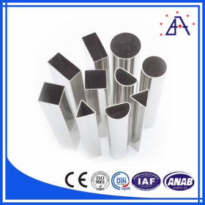European Market High Quality Polished Extrusion Aluminum Alloy Pipe pictures & photos