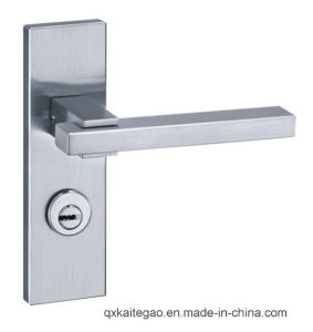 (KTG-5712-014) Satin Finish 304 Stainless Steel Hollow Modern Door Lock pictures & photos