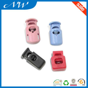 Dtm Color Plastic Cord Lock for Garments pictures & photos