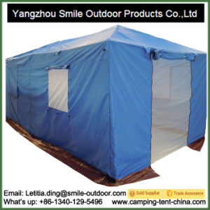 Good Quality Camping Waterproof Winter Huge Canvas Relief Tent pictures & photos
