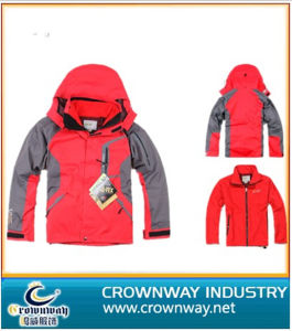 Men′s Seam Sealed Waterproof Ski Jacket with High Quality pictures & photos