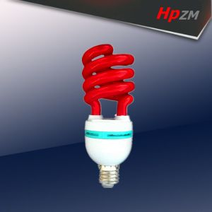 Half Spiral Red Color Bulbs Energy Saving Light pictures & photos
