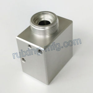 Precision CNC Machining Aluminum Block Support for Industrial Equipment pictures & photos