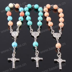 Acceptable Custom Plastic Beads Rosary Bracelet Used as Christian Gifts pictures & photos
