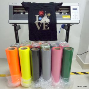 PU Based Heat Transfer Film Vinyl Easy Cut for All The Fabric
