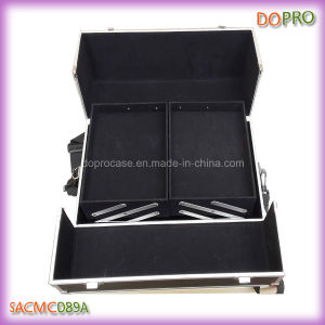 Four Trays Professional Large Beauty Train Case (SACMC089A)