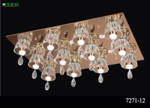 Hot Sale Modern Hotel Decorative Crystal Chandelier Byzg 7271-12 pictures & photos