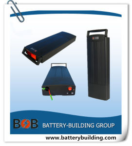 10s5p Lithium Electric Bicycle Battery Rear Rack Battery Lithium Battery Power Battery LiFePO4 Battery Ebike Battery Li-ion Battery Rechargeable Battery pictures & photos