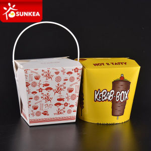 Disposable Paper Pasta Noodle Food Packaging Box pictures & photos