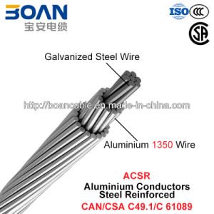 ACSR, Aluminium Conductors Steel Reinforced (CAN/CSA C49.1/C 61089) pictures & photos