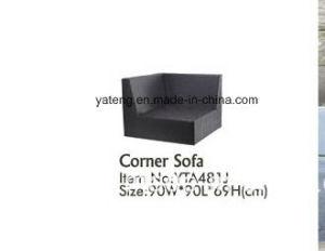 Cheap Outdoor PE Rattan Furniture Garden Synthetic Rattan Cornor Sofa pictures & photos