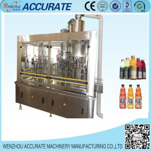 Bottled Juice Hot Washing Filling Capping Machine pictures & photos