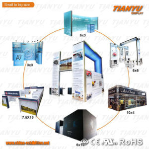 Portable and Modular Aluminum Fabric Exhibition Booth Exhibition Equipment pictures & photos