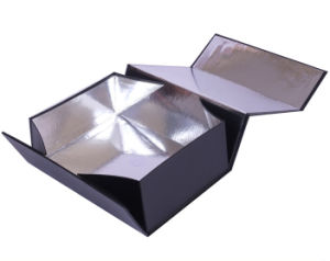 Foldable Cardboard Box with Silver Inside