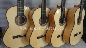 Aiersi All Solid Wood Spanish Flamenco Classical Guitar Sc095f pictures & photos