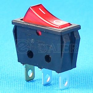 Red Lamp on off R11 Rocker Switch pictures & photos