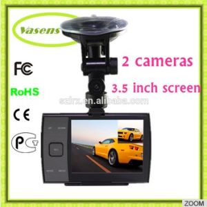 1080P HD Double Lens Dashboard Car DVR Dash Cam 219 pictures & photos