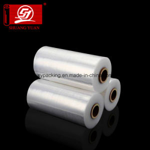Shuangyuan 6000m LLDPE Machine Grade Stretch Film Wrap Film with SGS Report pictures & photos