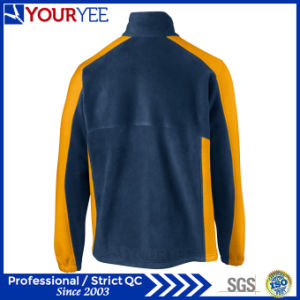 Hot Sell Two Tone Mens Polar Fleece Jacket (YYLR112) pictures & photos